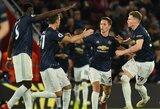"""Dar viena sunki J.Mourinho diena: dviem įvarčiais atsilikę """"Manchester United"""" sugebėjo išplėšti lygiąsias"""