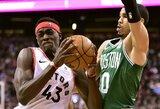 """""""Raptors"""" nepaliko vilčių """"Celtics"""" komandai"""