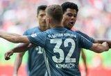 """""""Bayern"""" sutriuškino """"Dusseldorf"""" ir """"Bundesliga"""" čempionate vėl aplenkė """"Borrusia"""""""