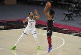 """Įspūdingas krepšinis: 96 """"Nets"""" žvaigždžių taškai ir nesėkmė po dviejų pratęsimų"""