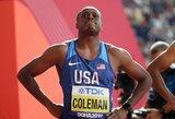 Pasaulio lengvosios atletikos čempionate – dvi didelės staigmenos ir galingas skandalingojo Ch.Colemano startas