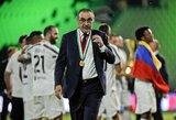 """M.Sarri: """"Nemanau, kad po rungtynių su """"Lyon"""" bus sprendžiamas mano likimas"""""""
