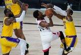 """""""Raptors"""" tęsia pergalingą seriją prieš """"Lakers"""""""