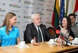 Sekmadienį Alytuje V.Žūsinaitė sieks asmeninio rekordo, miesto meras J.Krasnickas – įveikti trasą