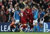 """Čempionų lyga: """"Liverpool"""" ir vėl neįveikė """"Napoli"""""""