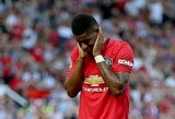 """Kantrybę dėl rasistinių išpuolių prieš futbolininkus praradę """"Manchester United"""" ketina susitikti su populiariausių socialinių tinklų vadovais"""
