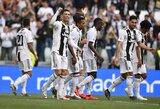 """Visiškas dominavimas: """"Juventus"""" užsitikrino aštuntą iš eilės Italijos čempionų titulą"""