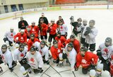 Lietuvos aštuoniolikmečių ledo ritulio rinktinė pradėjo pasiruošimą pasaulio čempionatui