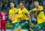 EURO2020 atranka: devyniese prieš Liuksemburgą likę lietuviai išplėšė lygiąsias ir pirmąjį tašką