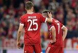 """""""Bayern"""" viduje – suirutė? F.Ribery susipešė su žurnalistu, klubas planuoja dideles permainas sudėtyje"""