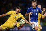 Draugiškos rungtynės: Italijai nepavyko įveikti Ukrainos testo