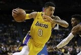 """Socialiniame tinkle – """"Lakers"""" naujoko konfliktas su broliais Ballais"""
