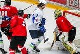 12 įvarčių praleidę lietuviai olimpinės atrankos turnyre neturėjo šansų prieš Slovėniją