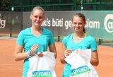 Tarptautiniame teniso turnyre Vilniuje – šeimininkų triumfas