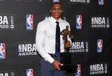 R.Westbrookas tapo reguliariojo sezono MVP