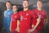 """""""Bayern"""" klubas pristatė naują kito sezono namų aprangą"""