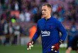 """Barcelona"" ir M.A.Ter Stegeno derybos įstrigo: nesutaria dėl atlyginimo"