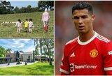C.Ronaldo ir šeima kraustosi praėjus vos savaitei: neapsikentė avių bliovimo?