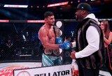 """""""Bellator 232"""": mirusios legendos sūnus per 38 sekundes nokautavo varžovą, vienarankis kovotojas įtikino tik vieną teisėją, D.Lima laimėjo kovą dėl diržo ir milijono"""