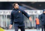"""""""Roma"""" paskutinę minutę išplėšė pergalę prieš """"Cagliari"""" klubą"""