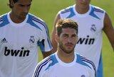 """S.Ramosas: """"Mano santykiai su treneriu J.Mourinho yra geri"""""""