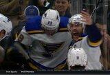 NHL rungtynių metu širdies smūgį patyręs olimpinis čempionas atsigauna ligoninėje