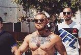 Kaip du vandens lašai: C.McGregoro antrininkas sukėlė ažiotažą Los Andžele
