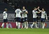 """""""Tottenham"""" iškovojo kelialapį į """"Carabao"""" taurės finalą"""
