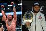 Pamatykite: MMA gerbėjus nuvylė oficialus UFC plakatas C.McGregoro ir C.Nurmagomedovo kovai