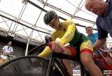 Pasaulio jaunimo dviračių treko čempionate V.Šumskytė pateko į dešimtuką