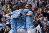 """Anglijoje nenugalimų neliko: """"Everton"""" žygį sustabdė """"Manchester City"""" klubas (+ kiti rezultatai)"""