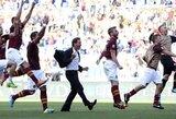"""""""Roma"""" laimėjo miesto derbį ir pakilo į pirmą vietą (+ kiti rezultatai)"""