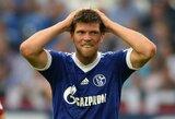 """Prastos naujienos """"Schalke"""" klubui – K.J.Huntelaaras nežais apie mėnesį"""