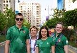 Jaunosios Lietuvos šuolininkės į vandenį Europos žaidynėse nepateko į finalą