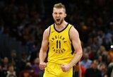 """""""Pacers"""" oficialiai pratęsė kontraktą su D.Saboniu"""