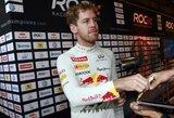 S.Vettelio tikslas - dar daugiau čempiono titulų
