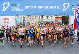 """Vilniuje startavo didžiausia šalyje bėgimo šventė """"Danske Bank Vilniaus maratonas"""""""