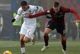 """""""AC Milan"""" nesugebėjo įveikti """"Bologna"""" futbolininkų"""