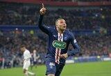 """PSG žvaigždė K.Mbappe laimėjo Prancūzijos čempionato """"Auksinį batelį"""""""