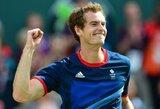 Svajonės išsipildymas: A.Murray'us tapo olimpiniu čempionu