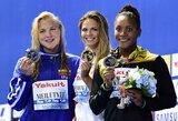 Sugrįžo su trenksmu: audringai rusų palaikoma J.Jefimova pasaulio čempionato finale aplenkė R.Meilutytę (D.Grybauskaitės sveikinimas)