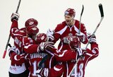 """Rygos """"Dinamo"""" šventė pirmą pergalę KHL čempionate 2016-ais metais"""