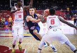 Serbai pasaulio čempionatą pradėjo pergale 46 taškų persvara