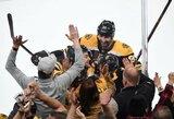 """Įspūdingai trečią kėlinį sužaidusi """"Bruins"""" pergale pradėjo Rytų konferencijos finalą"""