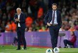Nepatenkintas G.Southgate'as pabrėžė individualias Anglijos klaidas keistose rungtynėse su Kosovu