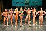 Kultūrizmo ir fitneso varžybose Vilniuje paaiškėjo keturi absoliutūs nugalėtojai