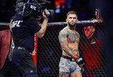 """Pirmame raunde nokautuotas buvęs UFC čempionas nutraukė tylą: """"Žudyk arba būsi nužudytas"""""""