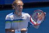 Ukrainiečiai tapo Hopmano taurės teniso turnyro A grupės lyderiais, amerikiečių viltys žlugo