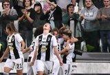Italijoje – rekordinės moterų futbolo rungtynės