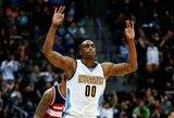 """D.Arthuras: """"Nuggets"""" kitą sezoną dėl titulo kovos kaip """"Warriors"""" komanda"""""""
